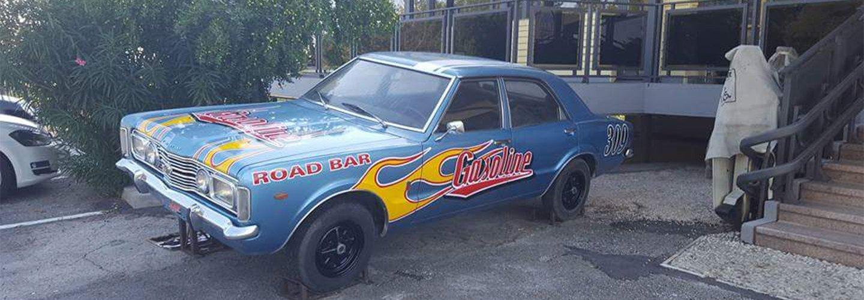 Auto Gasoline mascotte