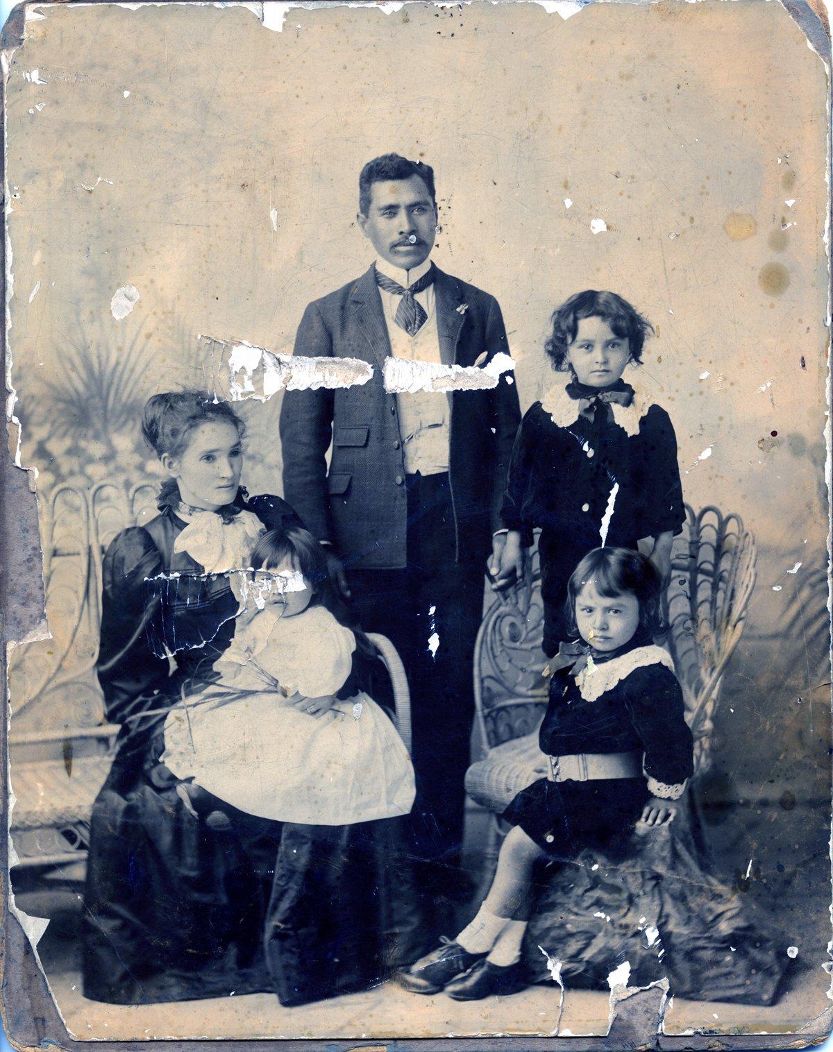 Photo before restoration