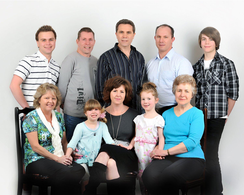 Family and children portrait
