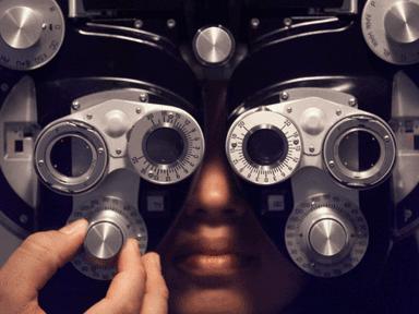 macchina per visita oculistica