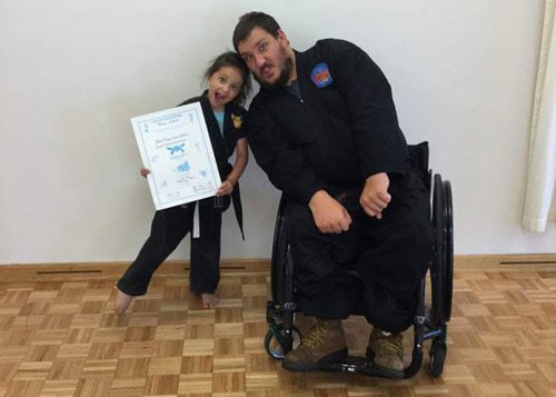 ninja certificate girl