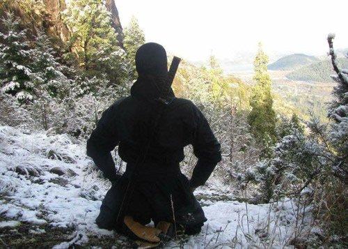 ninja meditating