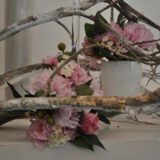 addobbi con fiori artificiali