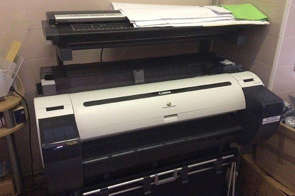 una stampante della marca Canon
