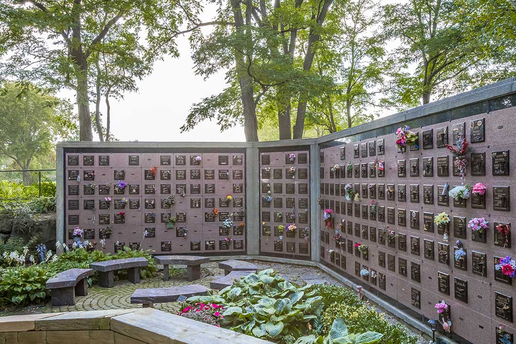 Affordable columbarium at Bayview cemetery