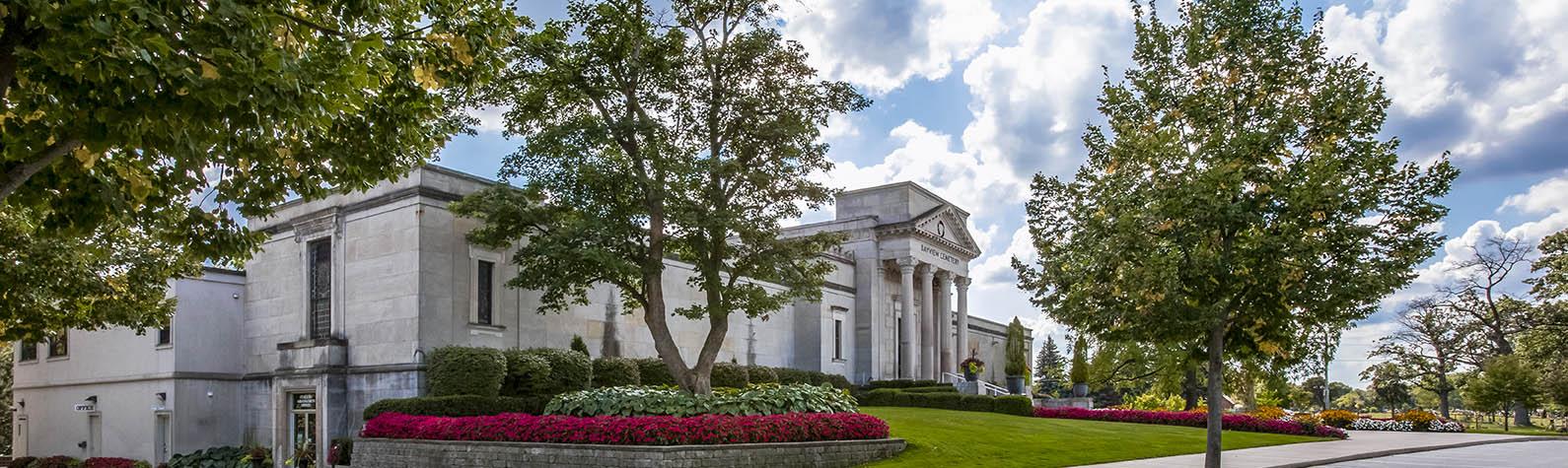 Bayview mausoleum in Burlington