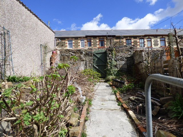 House for sale. Blaengarw Road. Garden