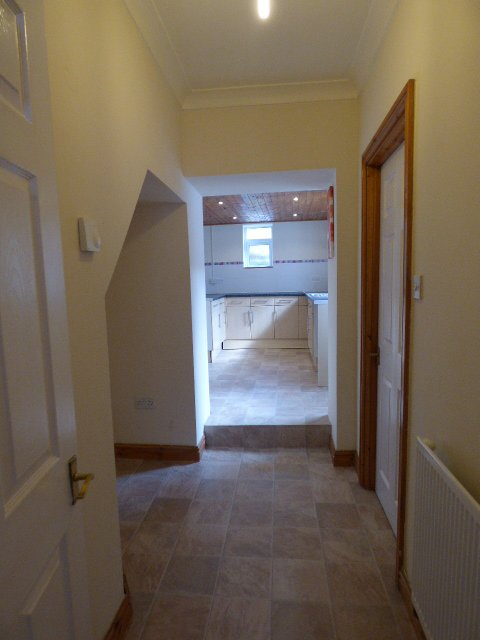 House for sale. Blaengarw Road. Hallway