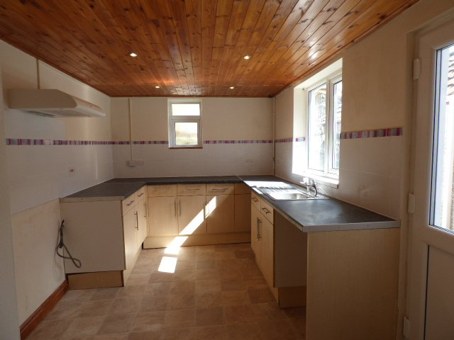 House for sale. Blaengarw Road. Kitchen