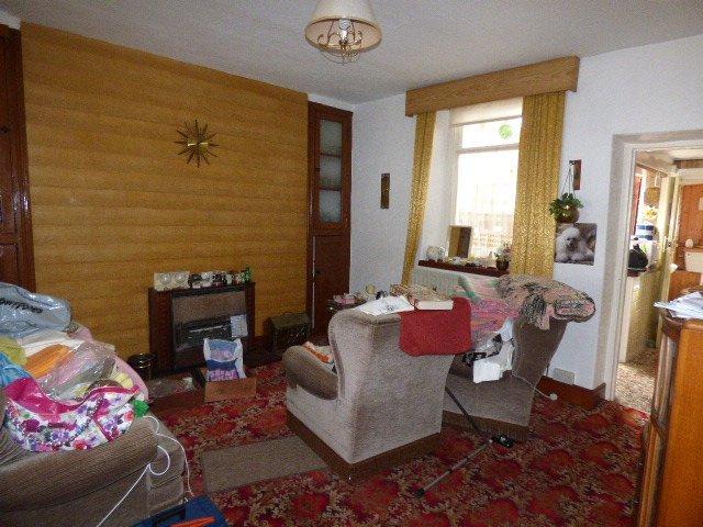 Wisemove. Property for sale. The Strand, Blaengarw. Living Room