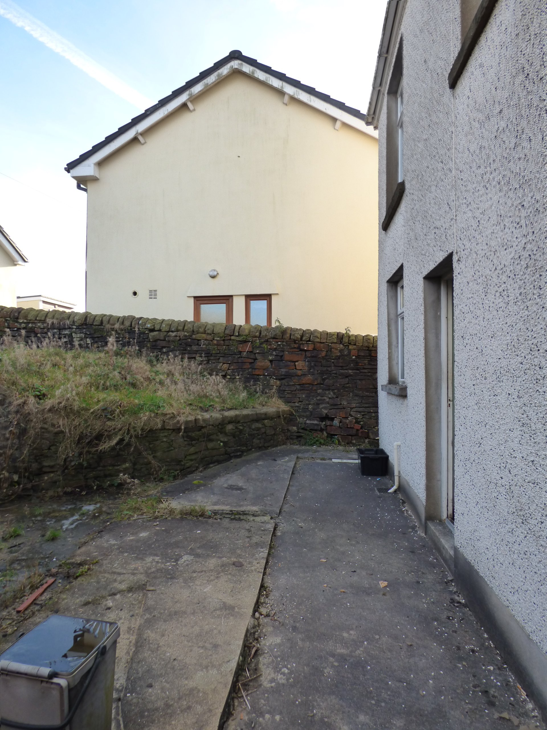 Wisemove Property for sale. Tanybryn House, Pontycymmer. Rear of property