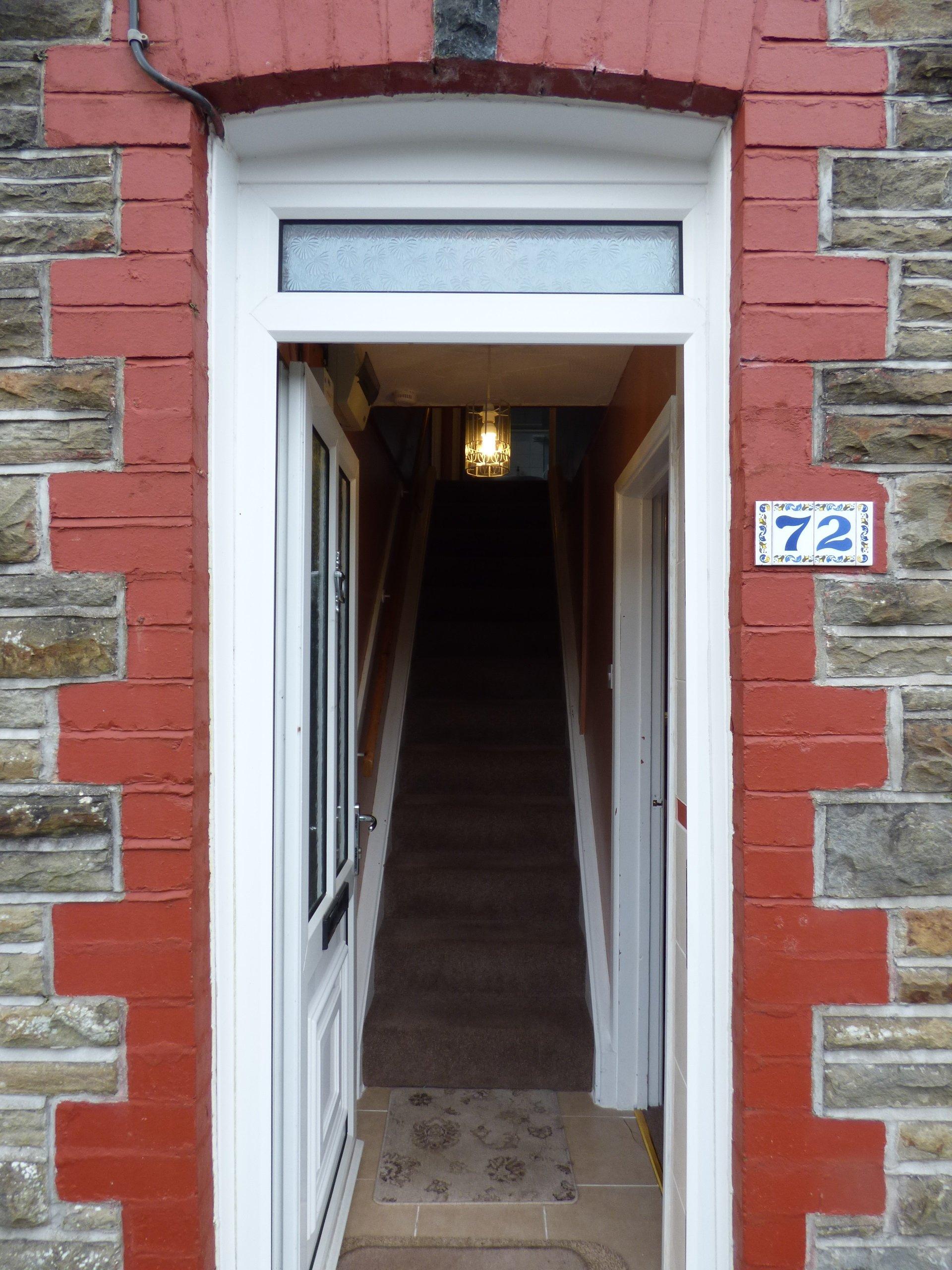 Wisemove. Property for sale. Bridgend Road, Pontycymer. Entrance