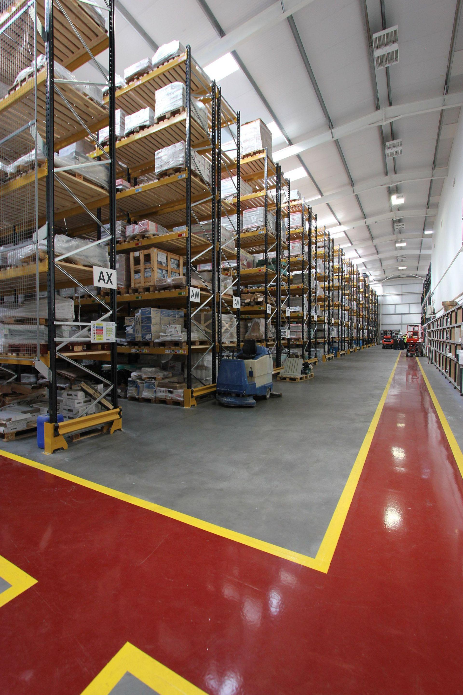 Warehouse floor painting contractors gurus floor for Gallagher flooring