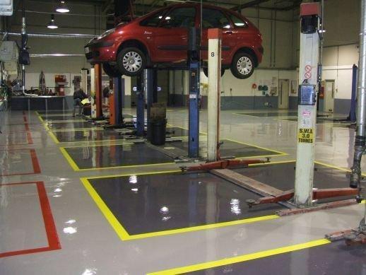 Workshop Flooring Solutions By Gallagher Flooring