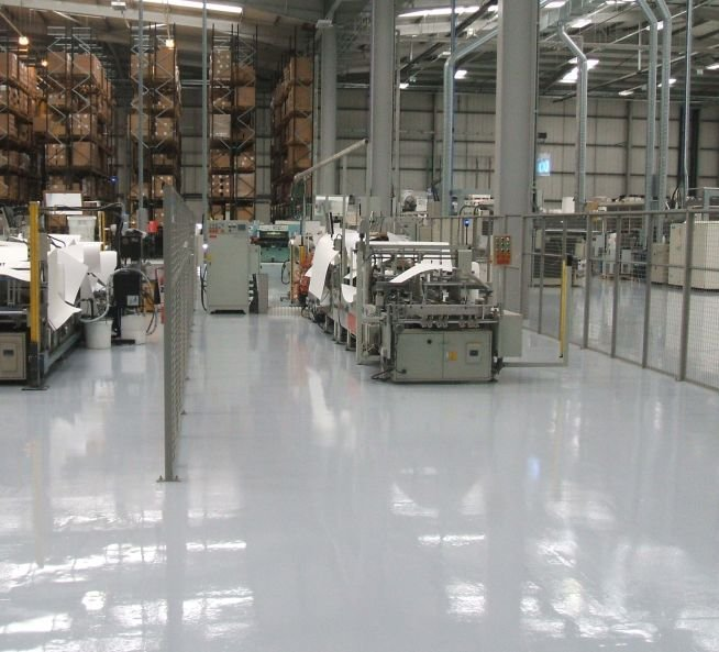 Seamless epoxy flooring systems from gallagher flooring for Gallagher flooring