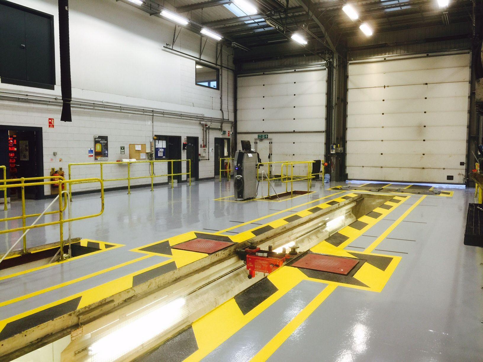 Epoxy Garage Flooring Installers Gallagher Flooring
