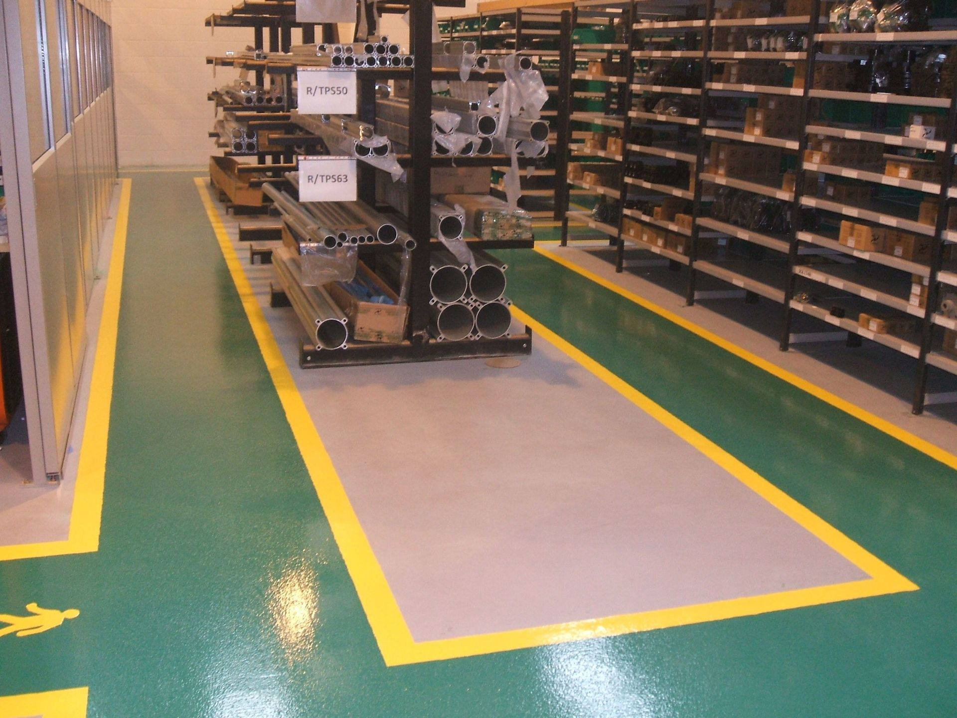 Resin Factory Floor Painting Services By Gallagher Flooring
