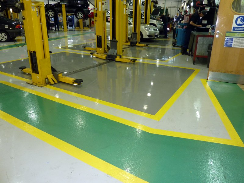 Workshop flooring solutions by gallagher flooring for Gallagher flooring