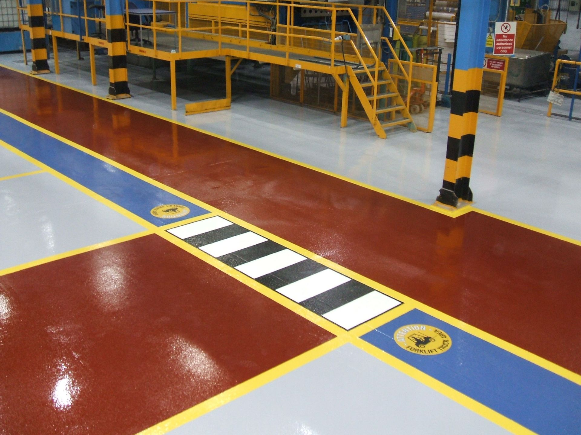 Warehouse Floor Painting Contractors Gallagher Flooring