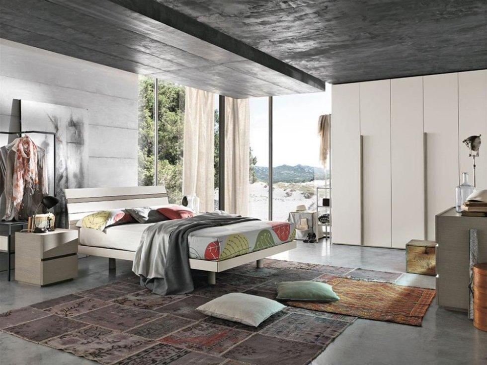 camere da letto stile moderno