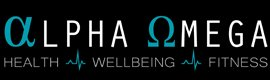 alpha omega health business logo