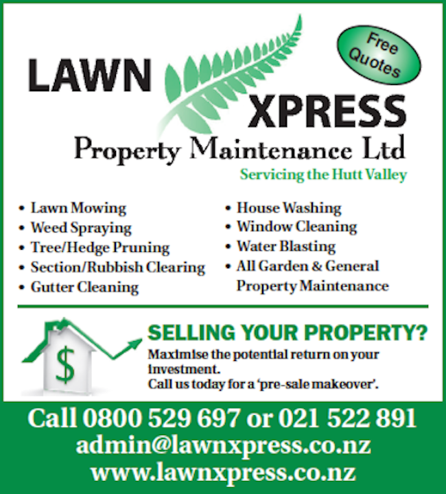Lawn Cutting Wellington Lawnxpress Property Maintenance Ltd