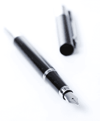 power and bennett pen with cap