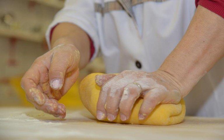 produzione manuale pasta fresca
