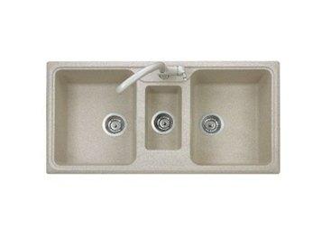 lavabo con 3 vasche