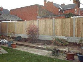 Concrete - Sutton-in-ashfield - Slab World - Wooden fence
