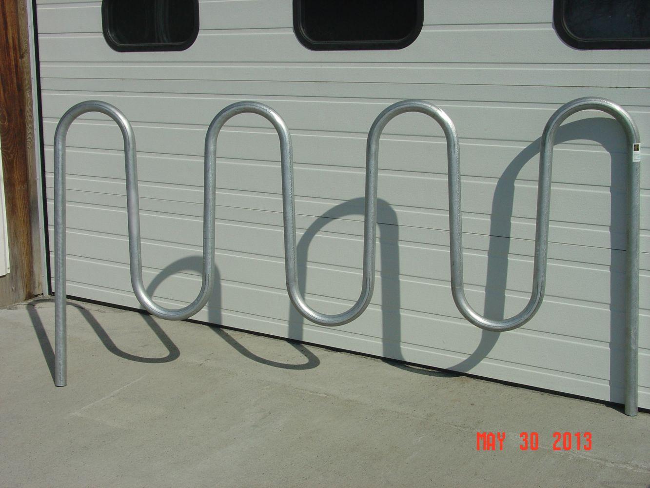 Bike Rack Serpentine