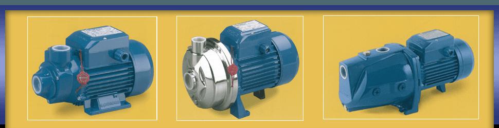Industrial pump machinery