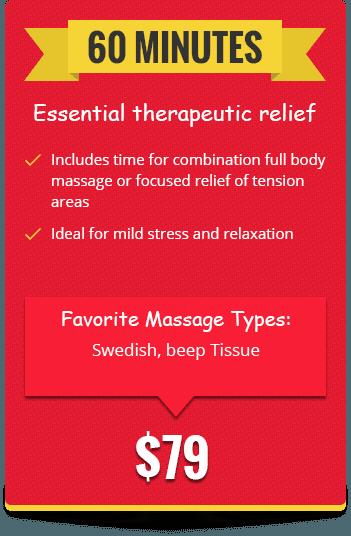 Essential therapeutic relief