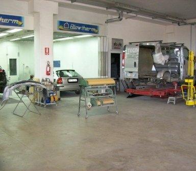 Carrozzeria Urbinauto, Urbino (PU), riparazione meccanica