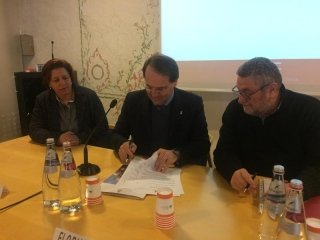 Firma protocollo d'Intesa Comune-Confida-Adiconsum