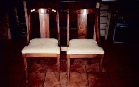 sedie, restauro