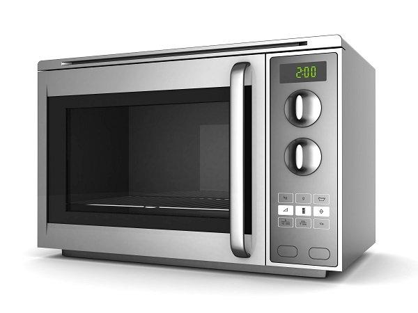 un moderno forno micro-onde