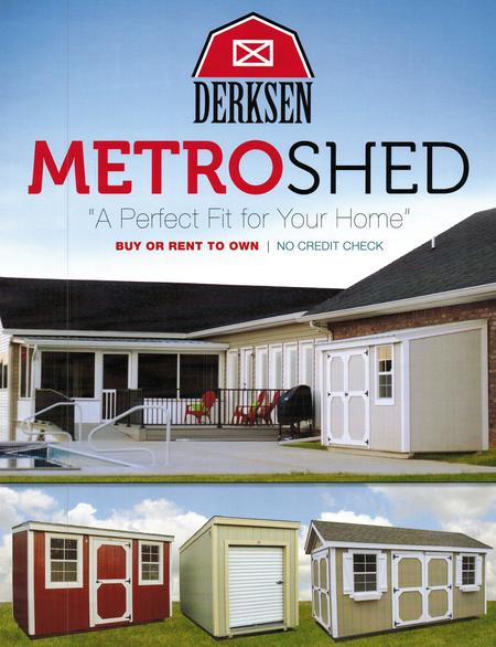 Derksen Metro Shed | I-30 Portable Buildings | Sherwood, AR