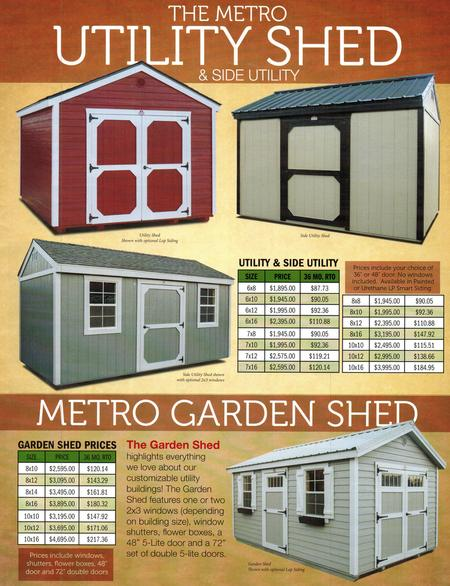Derksen Metro Shed | I-30 Portable Buildings | Sherwood, AR