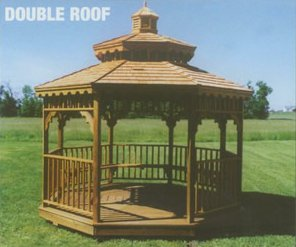 double roof gazebo in arkansas