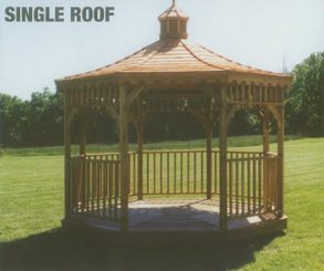 single roof gazebo in arkansas