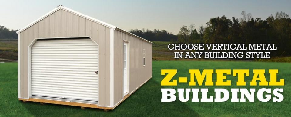 z-metal portable buildings