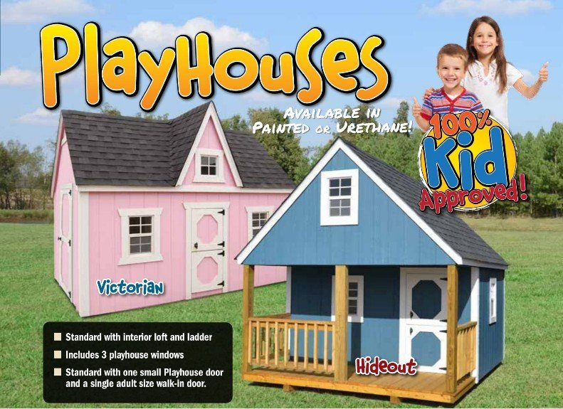 Wooden Playsets I 30 Portable Buildings Pulaski County