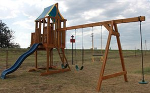 Wooden Playsets | I-30 Portable Buildings | Pulaski County
