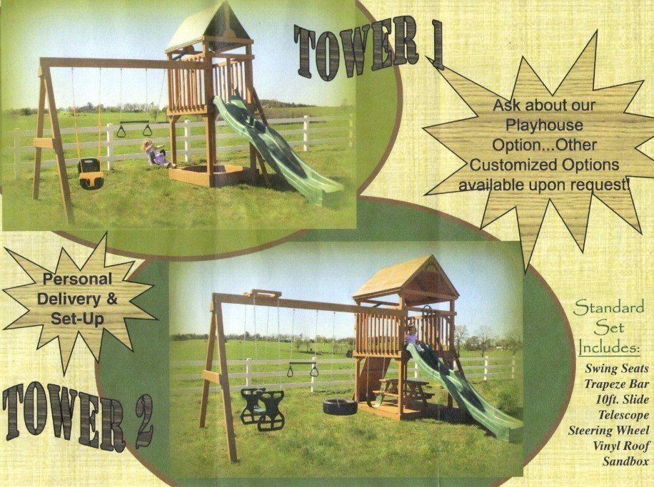 swings sets for sale arkansas