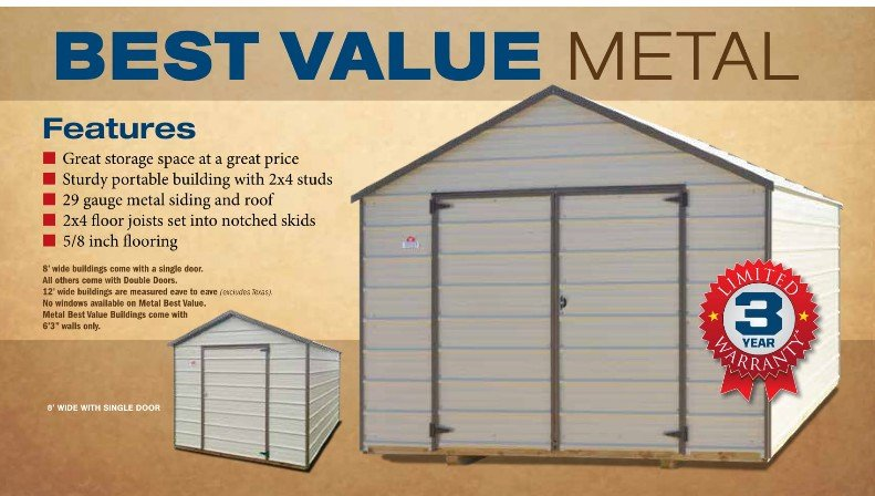 Derksen Pricing & Options | I-30 Portable Buildings | Arkansas