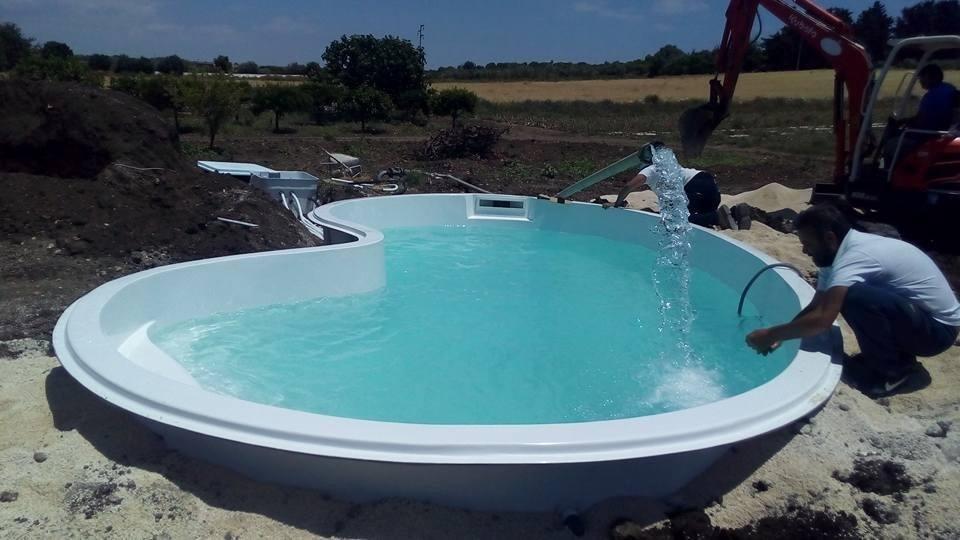 le piscine interrate - Castrofilippo - Agrigento - Sicily Pools
