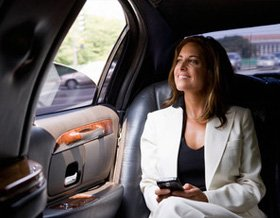 Taxi for hire - Cambridge - Crocus Cars - Business woman