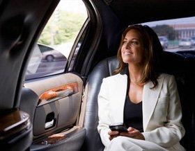 Taxi for hire - Cambridge - Crocus Cars - Business woman