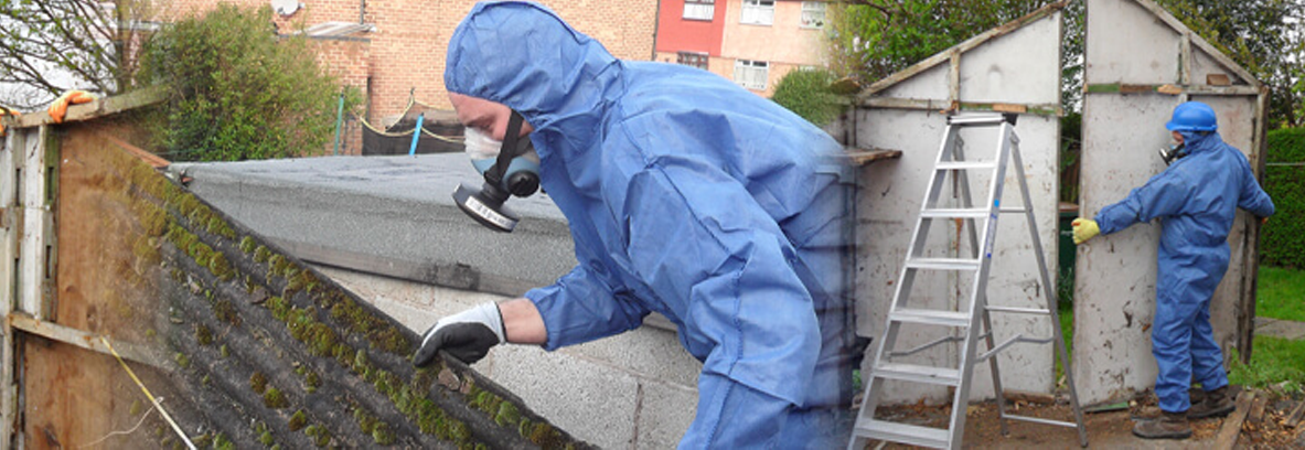 Asbestos cement removal